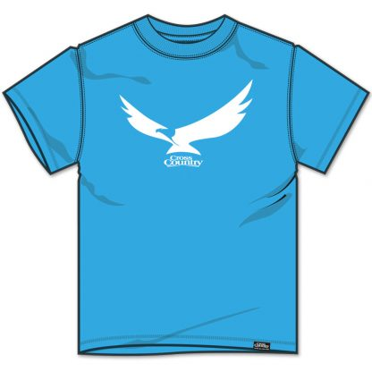 Cross Country Magazine Paragliding T-shirt Eagle T Atoll Blue