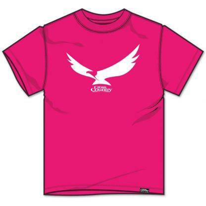 Cross Country Magazine Women's T-Shirt in Fuschia