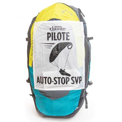 Panneau auto-stop pour pilotes de parapente
