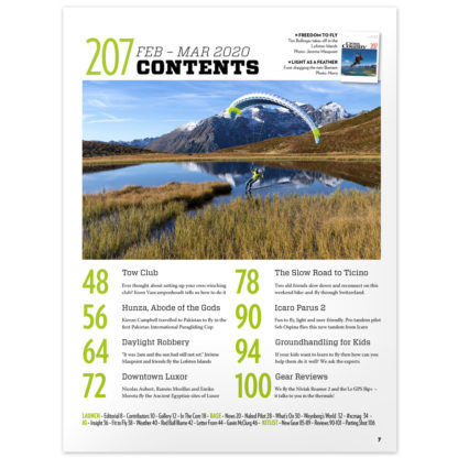Cross Country Issue 207 (Feb / Mar 2020) contents
