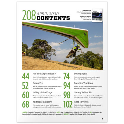 Cross Country Magazine issue 208 (April 2020) contents