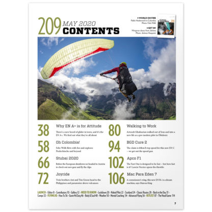 Cross Country Issue 209 contents