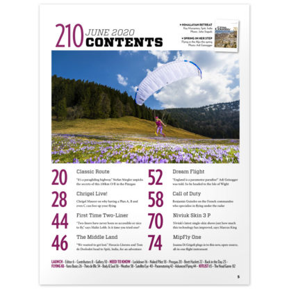 Cross Country Magazine Issue 210 (June 2010) contents