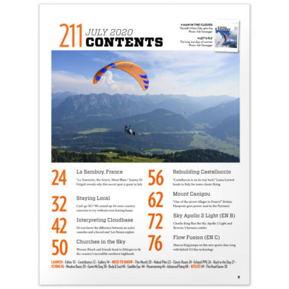 Cross Country Magazine issue 211 contents (July 2020)