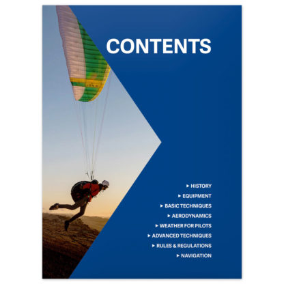 Paragliding: The Beginner's Guide contents