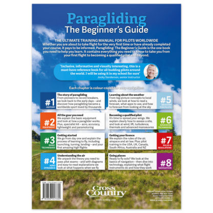 Paragliding: The Beginner's Guide back cover