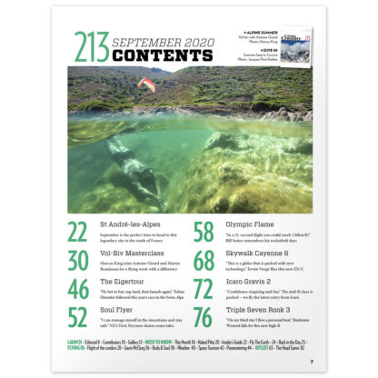Cross Country Magazine issue 213 contents