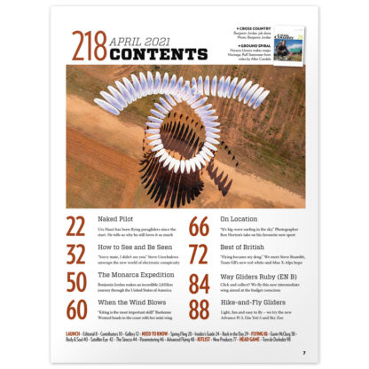 Cross Country Magazine issue 218 contents