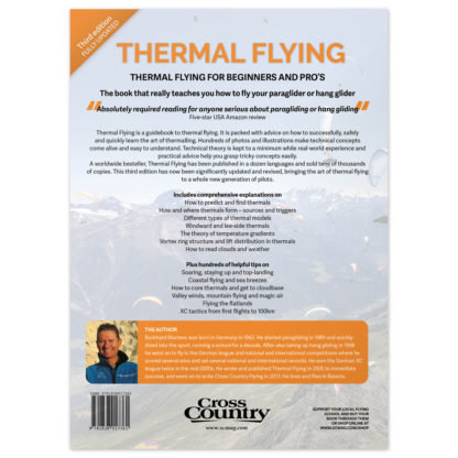 Thermal Flying (third edition) back cover