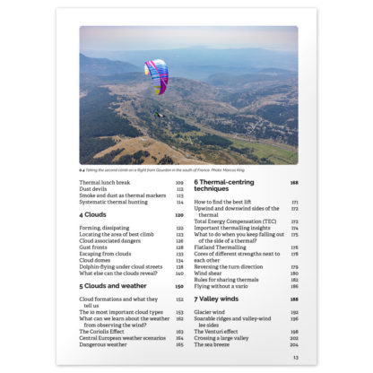 Thermal Flying (third edition) contents