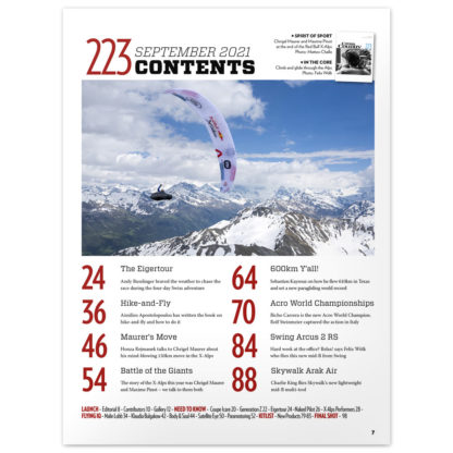 Cross Country Magazine issue 223 contents