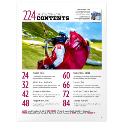Cross Country Magazine issue 224 contents
