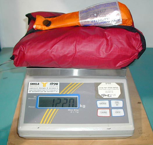 Apco Mayday 16 SLT weigh-in