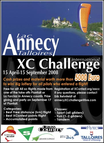 Annecy XC Challenge Poster