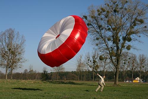 Dudek Globe rescue parachute