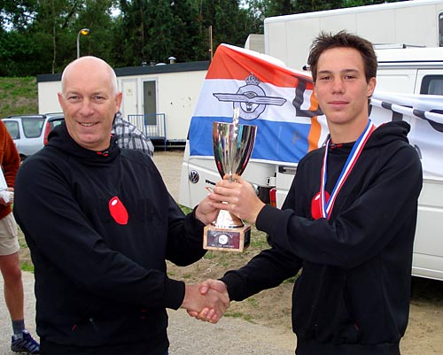Hans and 17-year-old Chavert ter Maat