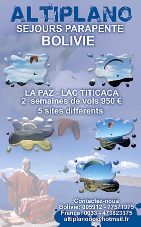 Altiplano Bolivia Paragliding Tours