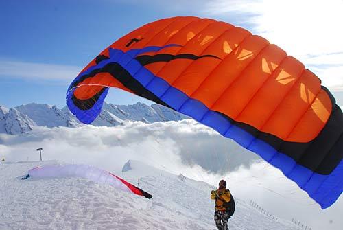 ITV Bip Bip speed flying paraglider