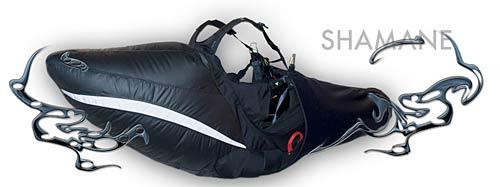 Sup'Air Shamane lightweight reversible paraglider harness