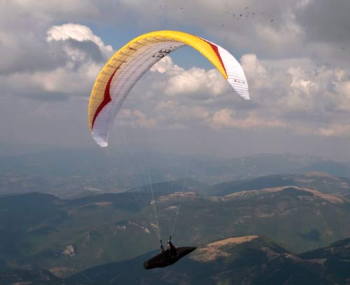 Gin Boomerang 7 competition paraglider