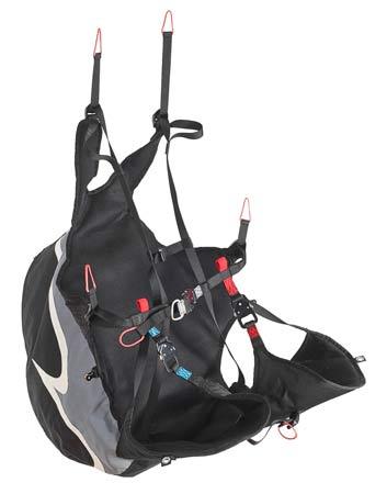 U-Turn IQ3 reversible paragliding harness