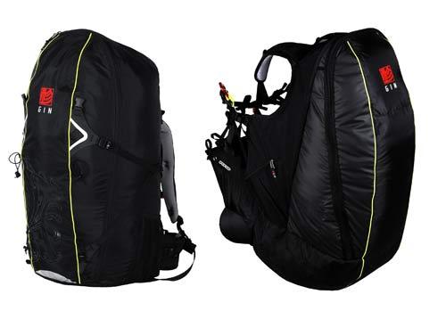 Gin Verso reversible paragliding rucksack harness