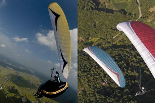 Gin Boomerang GTO EN / LTF D certified paraglider