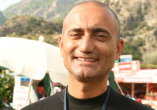 Kadri Tuglu, stepping down after 10 years at the helm of the Olu Deniz Air Games. Photo: Ed Ewing