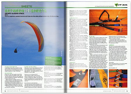 Cross Country Magazine Issue 130 Glider Review - Escape S'Pace