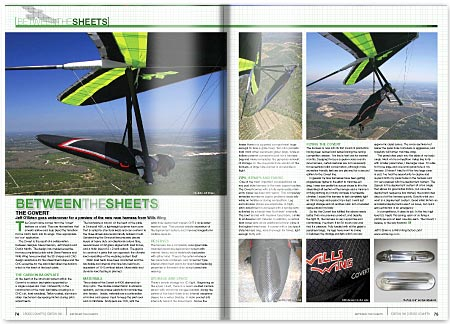 Cross Country Magazine Issue 130 Harness Review - Wills Wings Covert