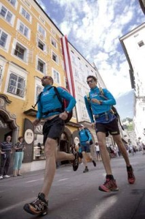 As in 2009, the race will start in Salzburg, Austria. Photo: www.redbullxalps.com