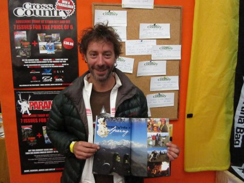 Antoine Laurens points out the spelling mistakes in the article about his 1,200 km Himalayan Odyssey vol-bivouac