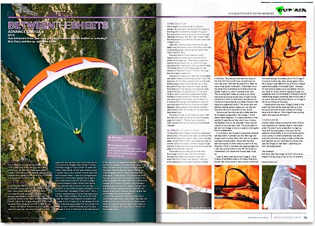 Cross Country Magazine Issue 132 Advance Omega 8 Review
