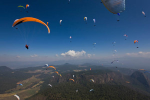 The Monarco Open kick starts the competition paragliding season this month