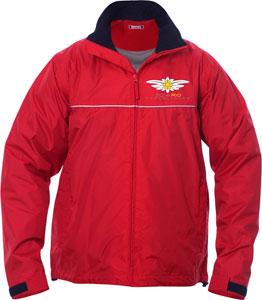 Icaro's new wind- and waterproof jacket