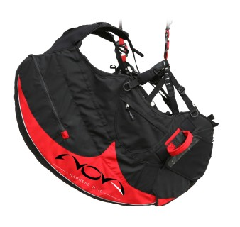 Nova's first paragliding harness, the N-10