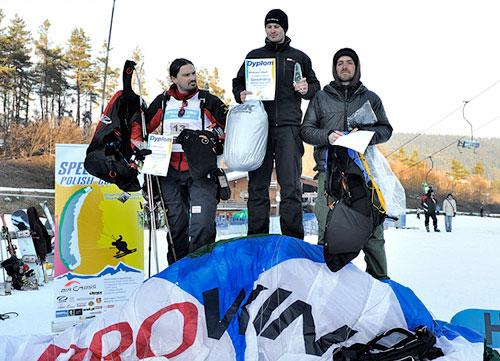 Poland's first speed riding championships: Arkadiusz Sabat wins. Photo: Piotr Krupa