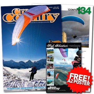 Cross Country Issue 134 Contents