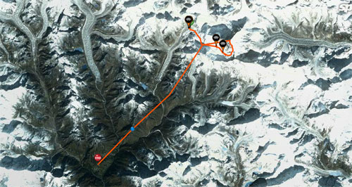 The climb and flight from Mount Everest – a 20km+ cross country by paraglider