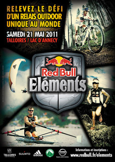 Red Bull Elements 2011 poster