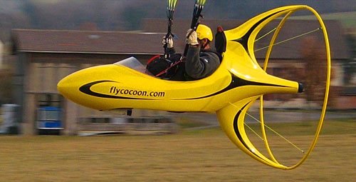 Flycocoon electric paramotor in production cross country for Electric motor shop near me