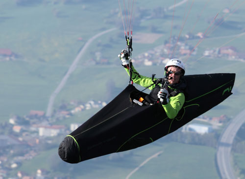 Niviuk's new cocoon competitionparagliding harness: the Drifter