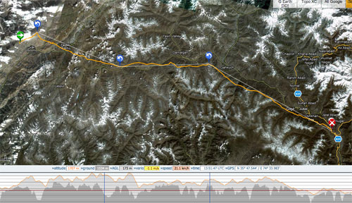 From Booni to Gilgit and beyond... the 225km, eight-hour flight