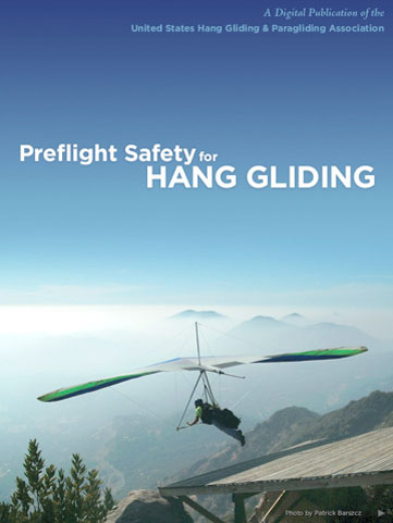 Preflight Safety hang gliding iPhone app