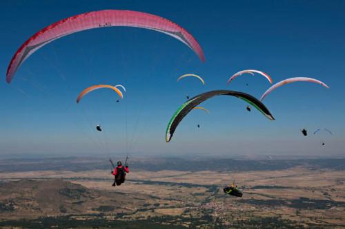 2011 Paragliding World Championships Task 1 - Photo- Martin Scheel