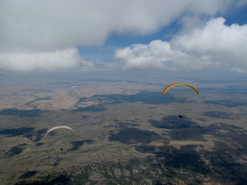 Big climbs, long glides and pulley to pulley racing. yes, it's the 2011 Paragliding World Championships