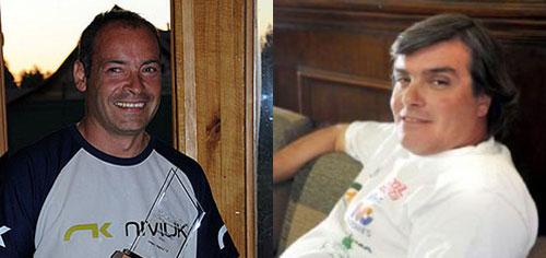 Eitel von Muhlenbrock, left, and Francisco Vargas. Photo: lacuarta.cl / jornadaonline.com