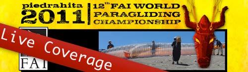 Paragliding World Championships 2011 Piedrahita