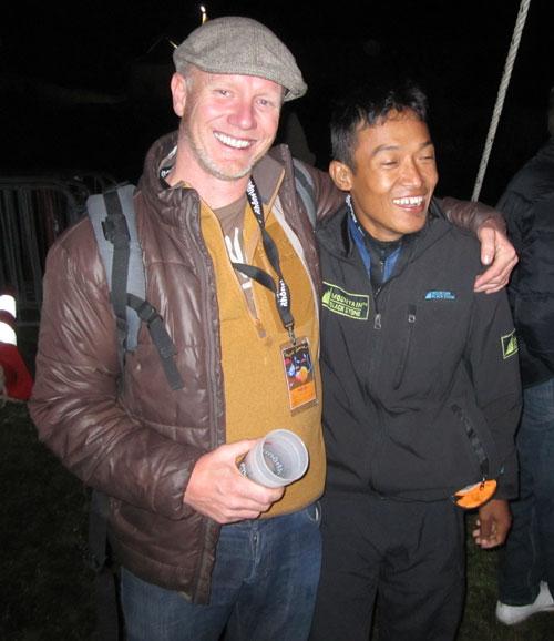 XCmag's Bob Drury and Nepal's Babu Sunuwar