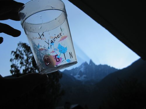 Some of the special edition reusable cups at the Coupe Icare this year were in memory of Xavier Murillo